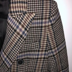 Zara double breasted long coat